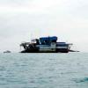 Aktivitas Kapal Isap Rusak Separuh Bangka