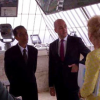 Jokowi Temani PM Swedia Naik ke Puncak Monas