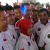 Warga Muara Angke Berlarian Serbu Jokowi
