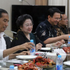 Natal, BTP Dikunjungi Jokowi dan Megawati