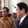 Pertemuan 30 Menit Jokowi dan Menlu Jepang