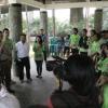 BTP Kunjungi Taman Kota Penjaringan (Foto)