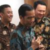 Jokowi Beri Inisial Wagub Ahok D dan R