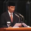 Jokowi Sampaikan Pidato Pengunduran Diri ke DPRD DKI
