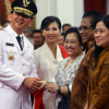 Basuki Akui Undang Megawati Saat Pelantikannya