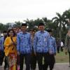 Hadir di HUT Korpri, Jokowi dan Iriana Disambut Gubernur BTP