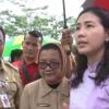 Veronica Peletakkan Batu Pertama Taman Terpadu Ramah Anak