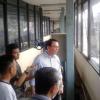 Kunjungi Pintu Air Karet, BTP Heran CCTV Menghadap Atap