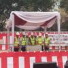 Jokowi Resmikan Pengeboran Bawah Tanah MRT