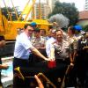 BTP dan Kapolda Groundbreaking Gedung Parkir Polda Metro Jaya (video)