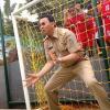 Senangnya Anak-anak Bermain Bola Bareng Ahok