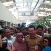 Resmikan Pasar Kebon Bawang, Ahok Singgung Oknum Pemalak