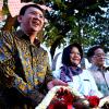 Basuki Resmikan Taman Diponegoro
