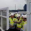 Ahok Tinjau Pembangunan Depo LRT di Kelapa Gading