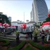 Ribuan Balon Sambut Ahok di Balai Kota Pagi Ini