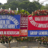 Selasa Pagi, Karangan Bunga Ahok-Djarot di Balai Kota Capai 5.016