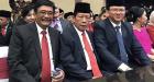 Hadiri Pelantikan DPRD DKI, Bang Yos, Ahok, dan Djarot Duduk Bareng